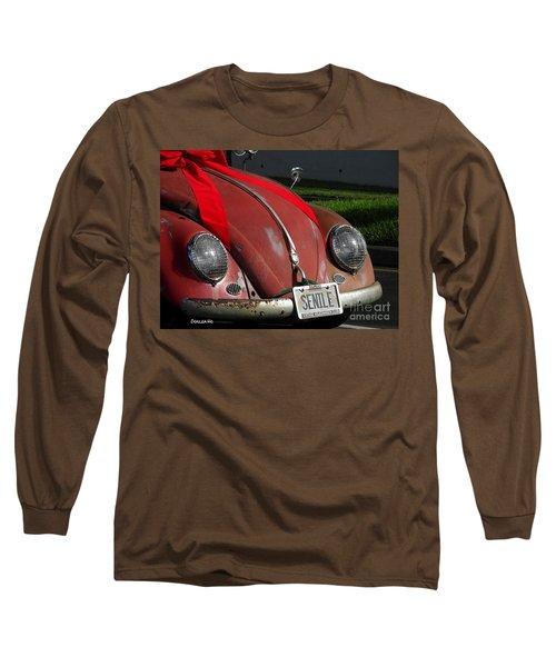 Vintage Volkswagen Long Sleeve T-Shirt