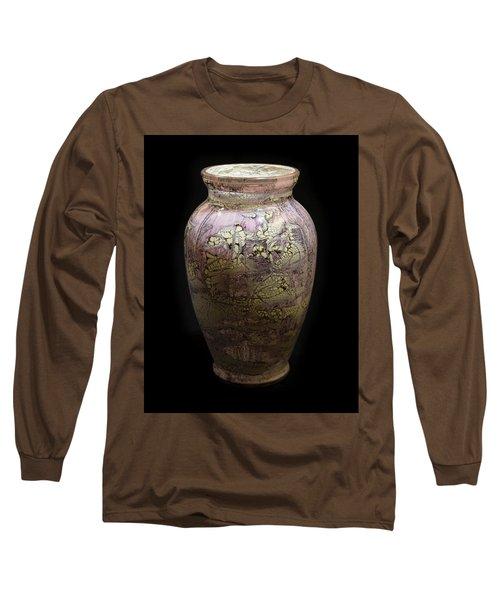 Violet Vase Long Sleeve T-Shirt
