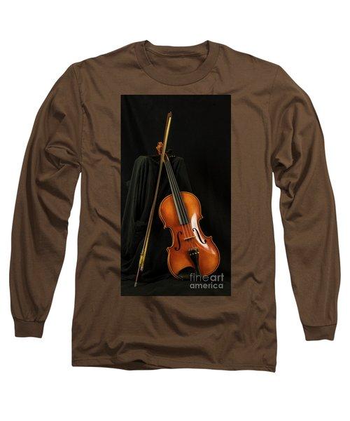 Violin And Bow Long Sleeve T-Shirt