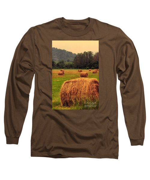 Virginia Evening Long Sleeve T-Shirt by Thomas R Fletcher