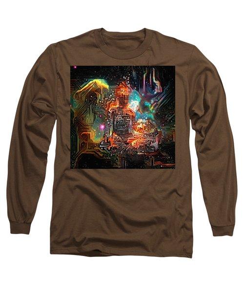Virtual Zen Long Sleeve T-Shirt