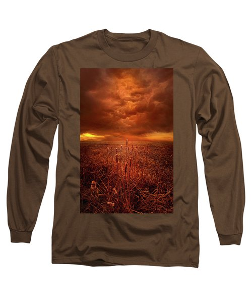 Long Sleeve T-Shirt featuring the photograph Vision Softly Speaking by Phil Koch