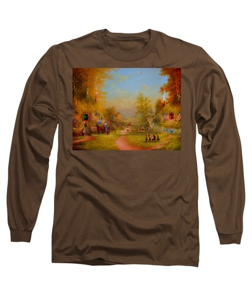 Visit From An Old Friend Long Sleeve T-Shirt
