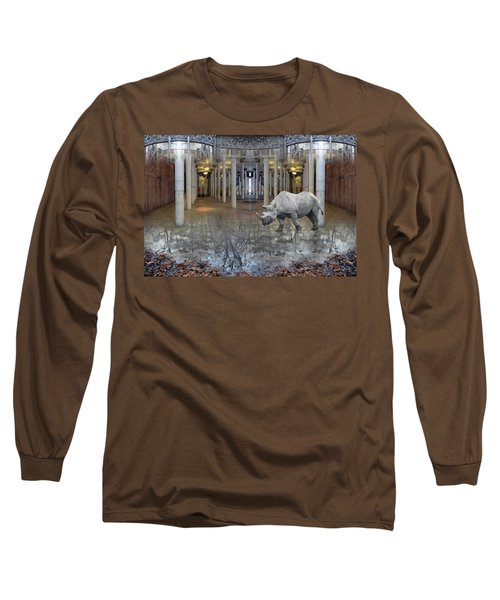 Visiting Long Sleeve T-Shirt by Joan Ladendorf