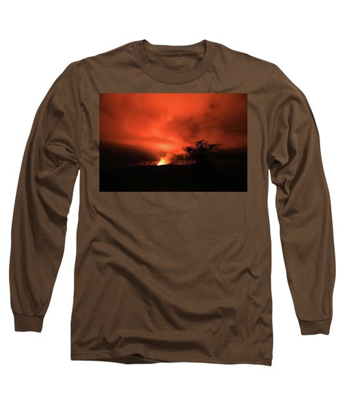 Volcano Under The Mist Long Sleeve T-Shirt