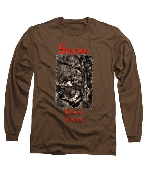 Vortex Juniper Clinging To A High Perch Long Sleeve T-Shirt