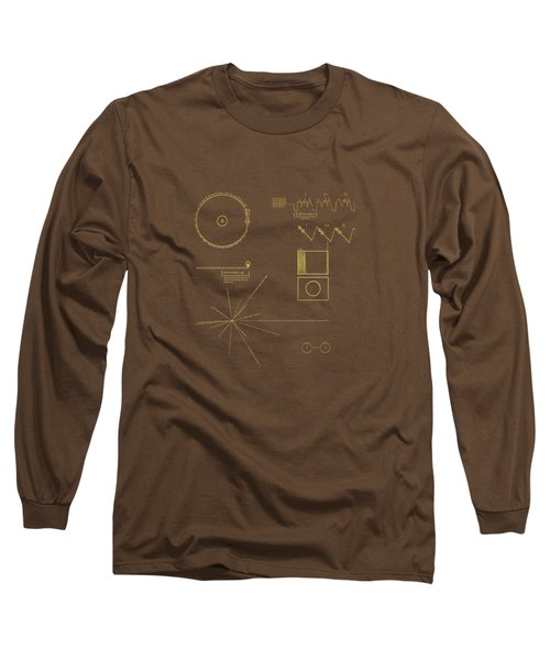 Voyager Golden Record Cover Long Sleeve T-Shirt