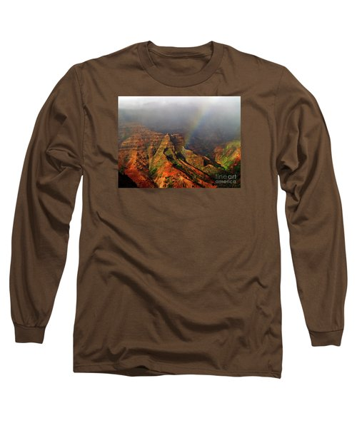 Waimea Canyon I Long Sleeve T-Shirt by Patricia Griffin Brett