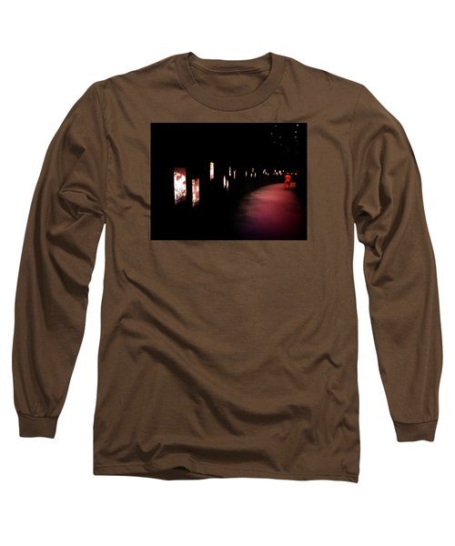 Walking Among The Stories Long Sleeve T-Shirt by Zinvolle Art