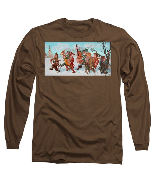 Walking Musicians Long Sleeve T-Shirt