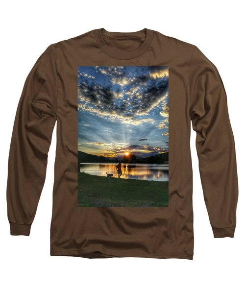 Walking With My Best Friend Long Sleeve T-Shirt