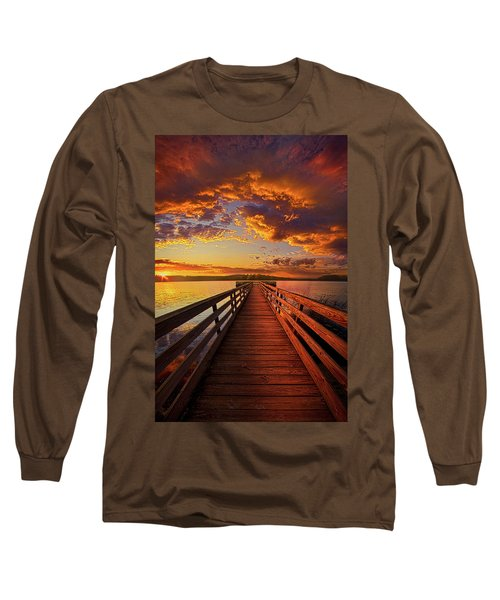 Long Sleeve T-Shirt featuring the photograph Walkyn Skywyrd by Phil Koch