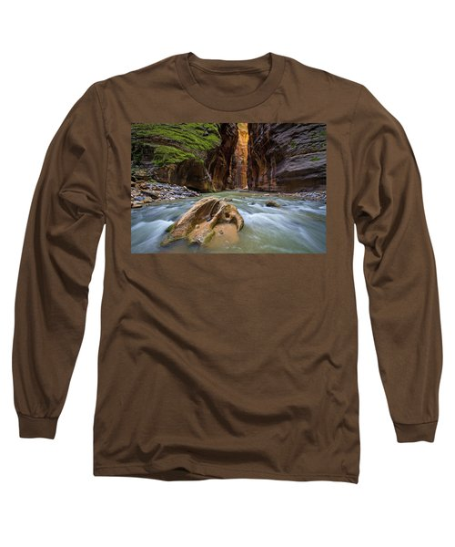 Wall Street Of The Narrows Long Sleeve T-Shirt