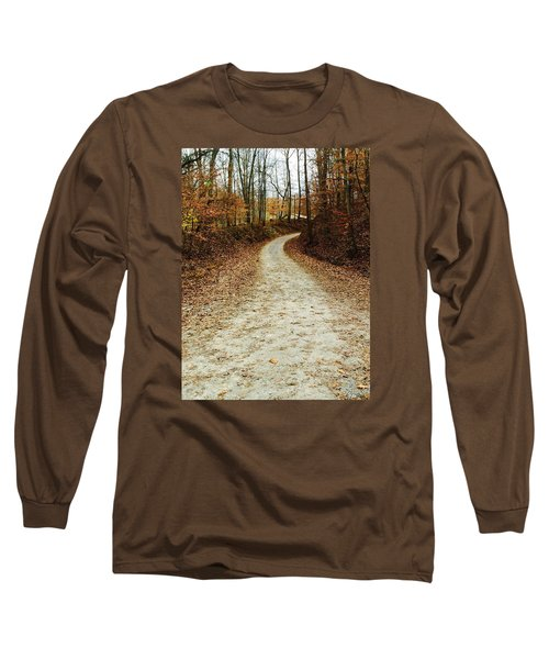 Wandering Road Long Sleeve T-Shirt by Russell Keating