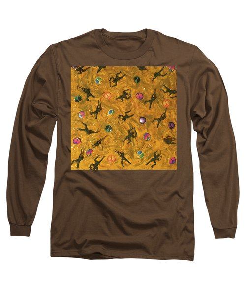 War And Peace Long Sleeve T-Shirt by Thomas Blood