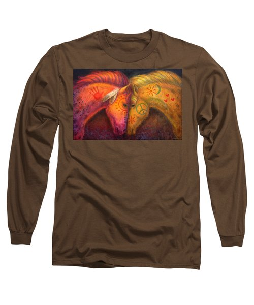 War Horse And Peace Horse Long Sleeve T-Shirt