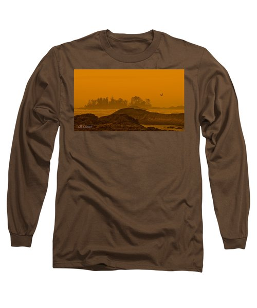 Warm Glow Long Sleeve T-Shirt by CR  Courson