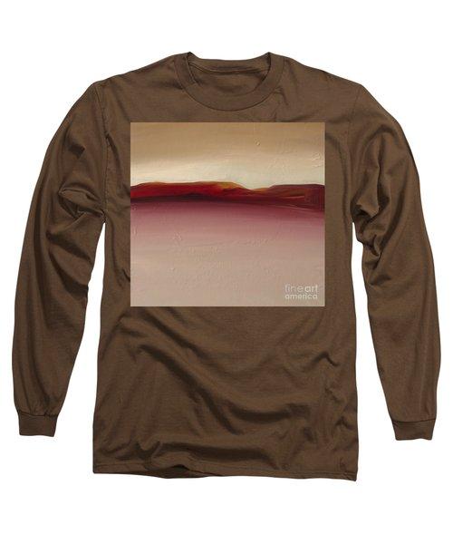 Warm Mountains Long Sleeve T-Shirt