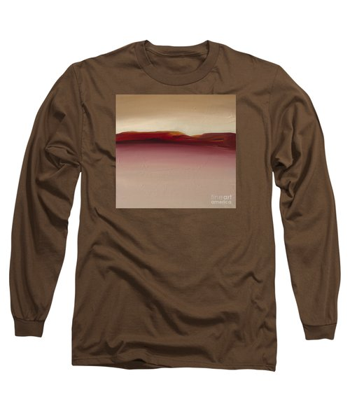 Warm Mountains Long Sleeve T-Shirt