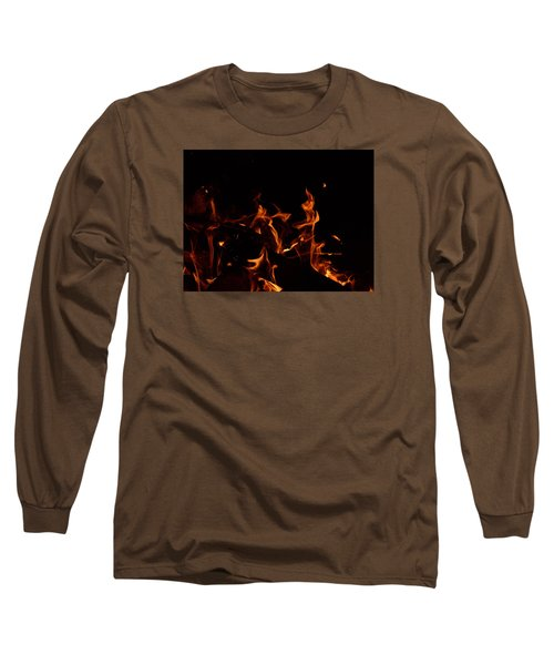Warrior Rabbit Long Sleeve T-Shirt by Janet Rockburn