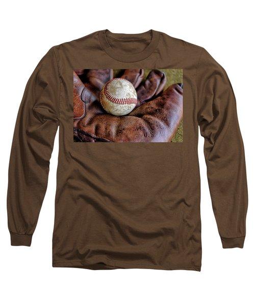 Wartime Baseball Long Sleeve T-Shirt