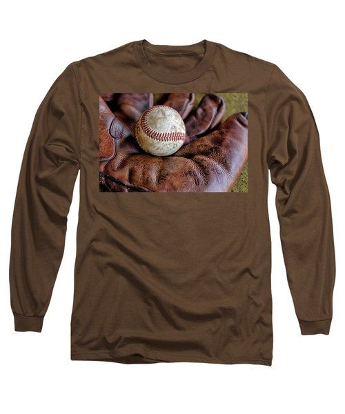Wartime Baseball Long Sleeve T-Shirt
