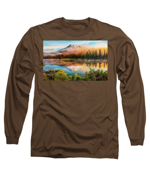 Washington, Mt Rainier National Park - 04 Long Sleeve T-Shirt