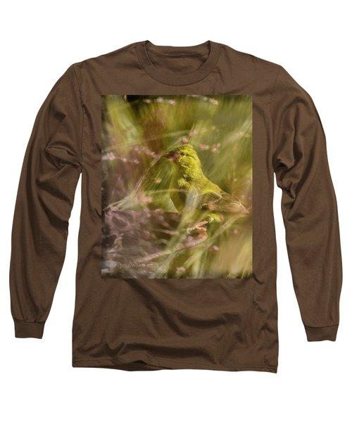 Watch What You Eat.... Long Sleeve T-Shirt