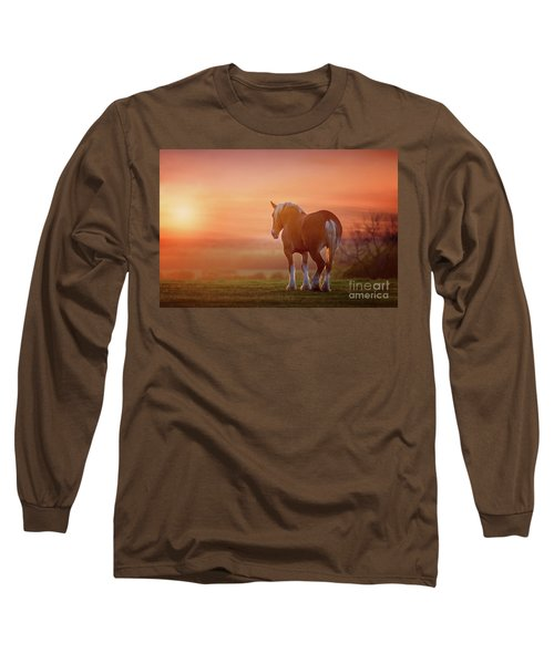Watching The Sunset Long Sleeve T-Shirt by Tamyra Ayles