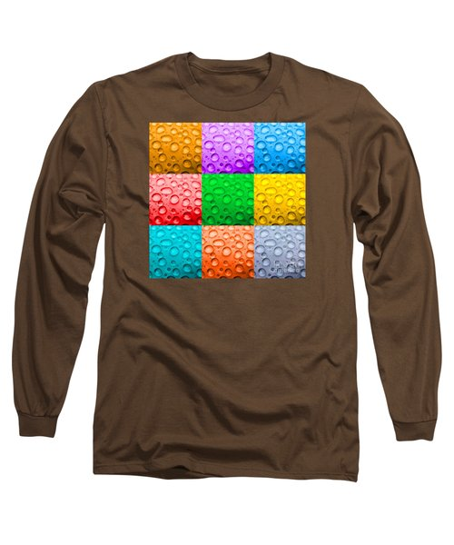 Long Sleeve T-Shirt featuring the photograph Water Color by DJ Florek