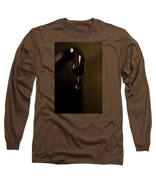 Water Droplet Long Sleeve T-Shirt