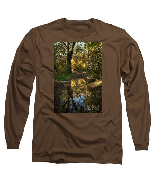 Water On The Trail Long Sleeve T-Shirt