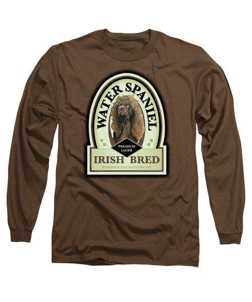 Water Spaniel Irish Bred Premium Lager Long Sleeve T-Shirt