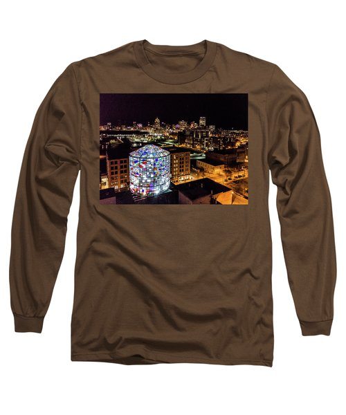 Water Tower Skyline Long Sleeve T-Shirt