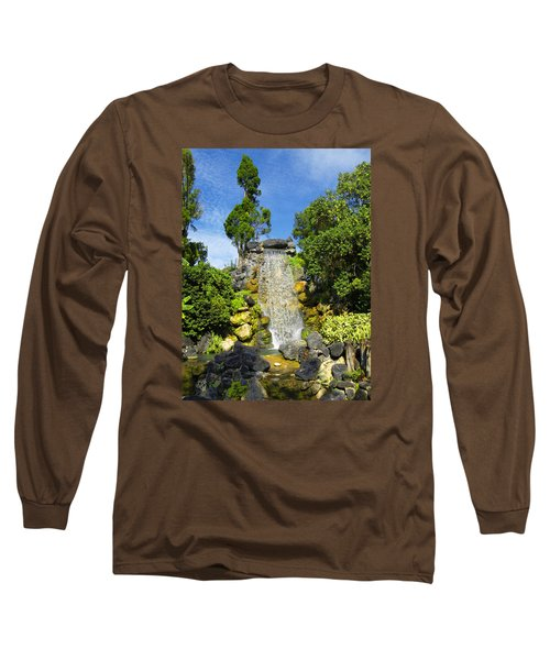 Water Works Long Sleeve T-Shirt by Barbara Middleton