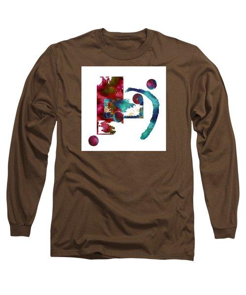 Watercolor Abstract 2 Long Sleeve T-Shirt