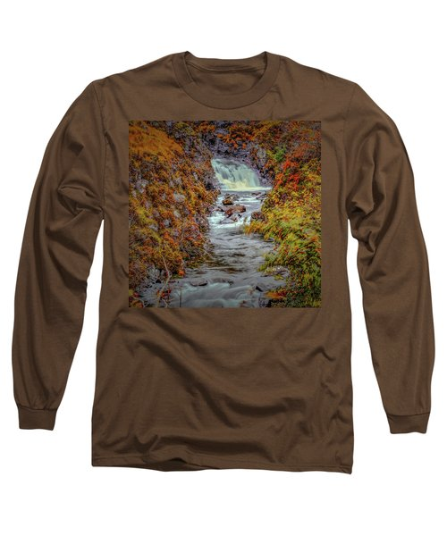 Waterfall #g8 Long Sleeve T-Shirt