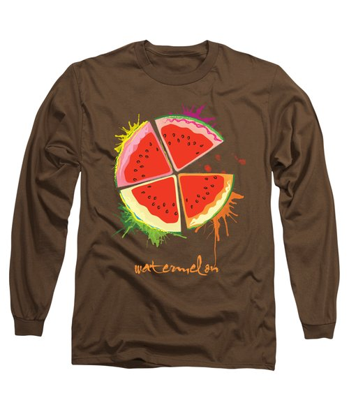 Watermelon Splash Long Sleeve T-Shirt