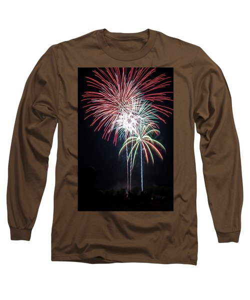 Waukesha Fireworks 01 Long Sleeve T-Shirt