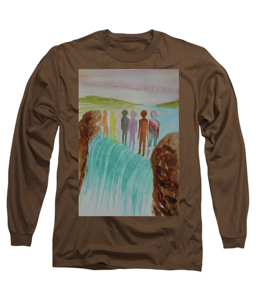 We Are All The Same 1.2 Long Sleeve T-Shirt by Tim Mullaney