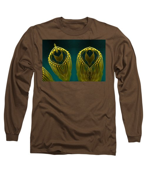 Long Sleeve T-Shirt featuring the digital art Weed 2 by Ron Bissett