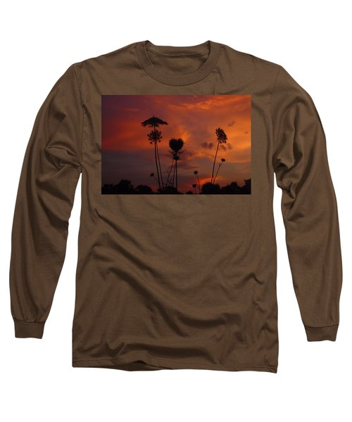 Weeds In The Sunrise Long Sleeve T-Shirt