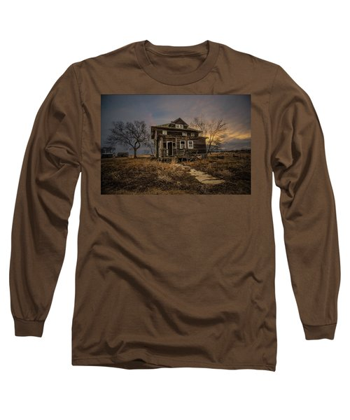 Long Sleeve T-Shirt featuring the photograph Welcome Home by Aaron J Groen