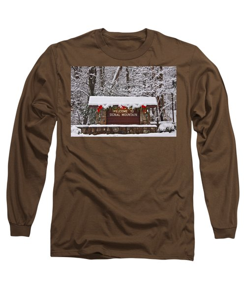 Welcome To Signal Mountain Long Sleeve T-Shirt