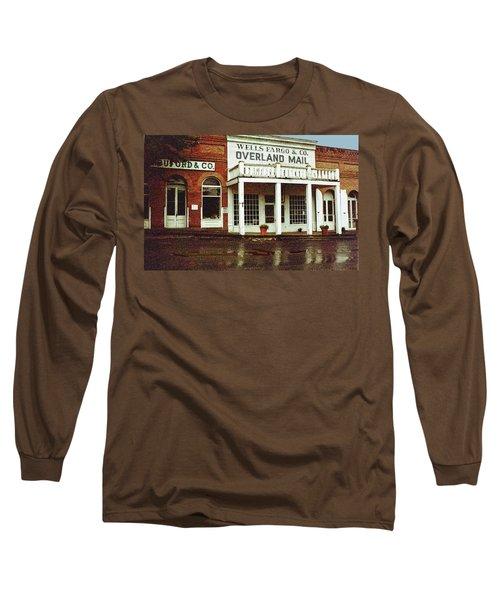 Wells Fargo Ghost Station Long Sleeve T-Shirt
