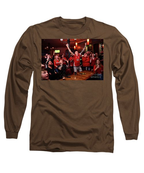 Welsh Rugby Fans Long Sleeve T-Shirt