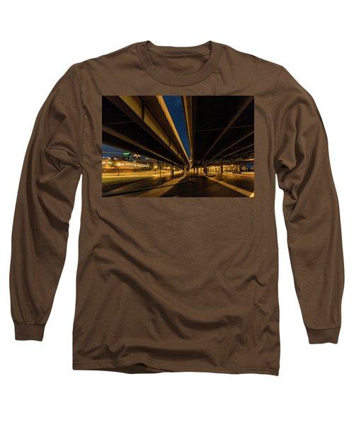 Long Sleeve T-Shirt featuring the photograph West River Road by Randy Scherkenbach