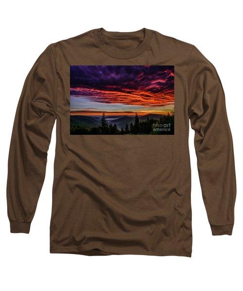 West Virginia Highland Dawn Long Sleeve T-Shirt