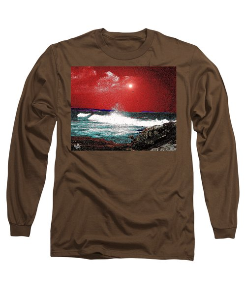 Whaleback At Peaks Island Maine Long Sleeve T-Shirt