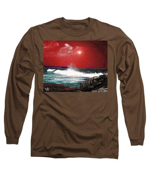 Whaleback At Peaks Island Maine Long Sleeve T-Shirt